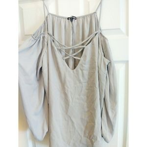 Charlotte Russe caged top!